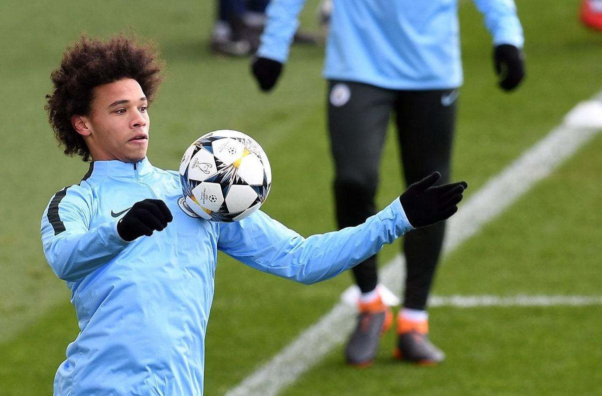 Leroy Sane et Manchester City partent largement favoris de leur double confrontation avec le FC Bâle