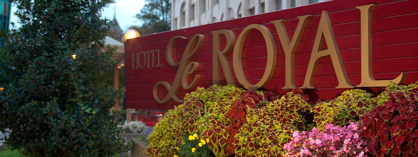 """Das Restaurant""""La Pomme Canelle"""" im Hôtel Le Royal leidet unter den Folgen der Corona-Pandemie."""