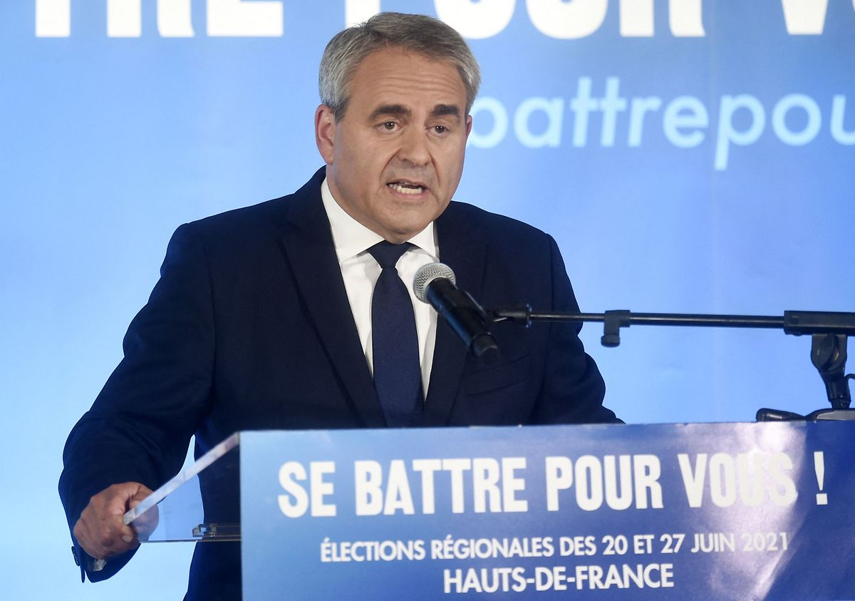 Xavier Bertrand is the most popular of the five main right-wing candidates, according to a poll published on Sunday