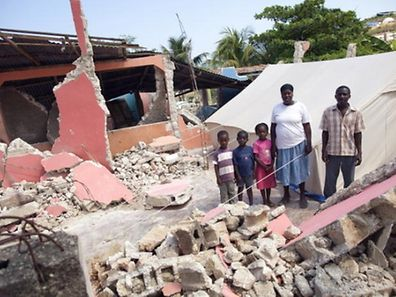 Rund 1,7 Millionen Menschen verloren bei dem Erdbeben ihr Zuhause.