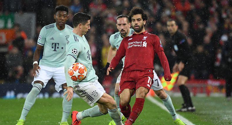 50df7dfb63 Liga dos Campeões. Liverpool - Bayern e Lyon - Barcelona terminam empatados  a zero