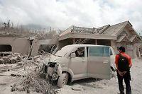 Mindestens 25 Menschen starben bei dem Ausbruch des Vulkans.