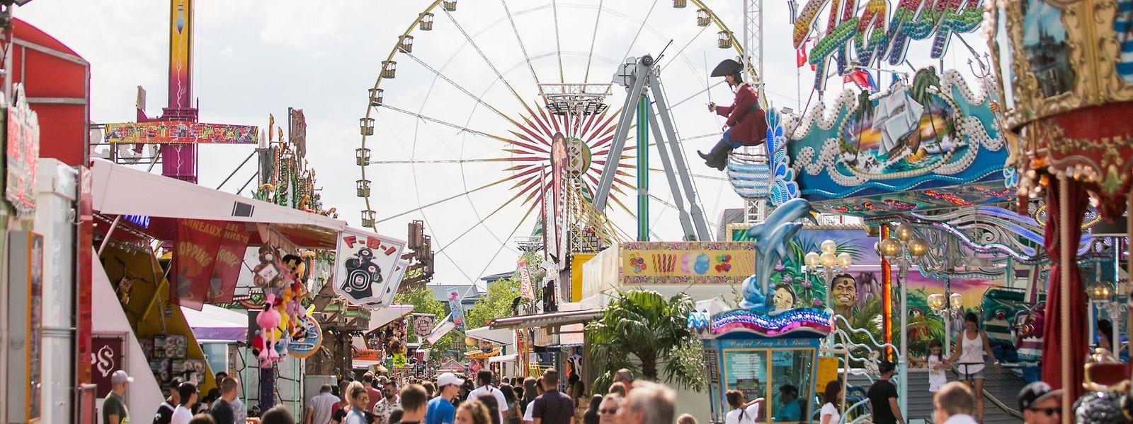 Die diesjährige Schobermesse endet am kommenden Dienstag.