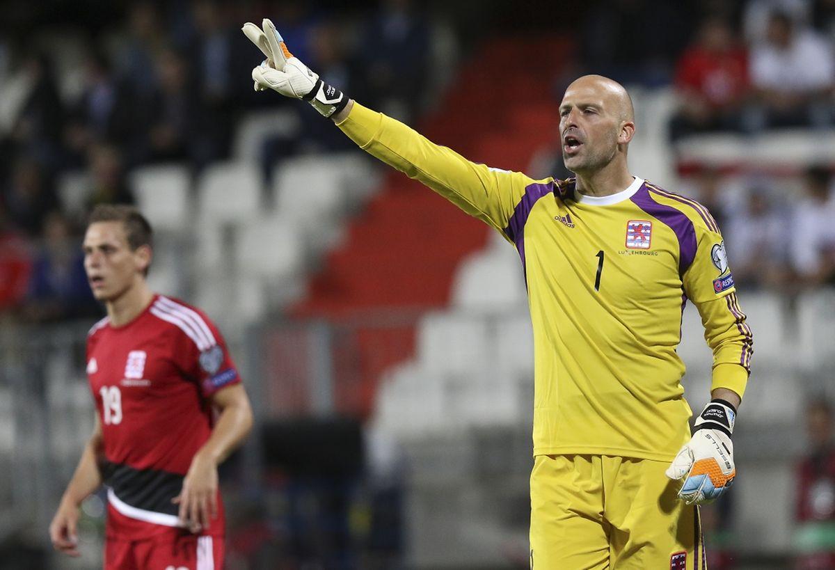 Jonathan Joubert a rassuré toute l'équipe luxembourgeoise