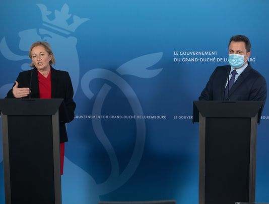 Health Minister Paulette Lenert and Prime Minister Xavier Bettel made the announcement at a press conference on Friday