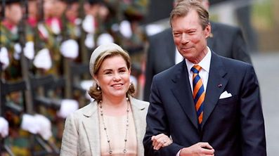 Ein Staatsbesuch mit vollem Programm: Drei Tage lang weilt die luxemburgische Delegation um das großherzogliche Paar in der finnischen Hauptstadt.