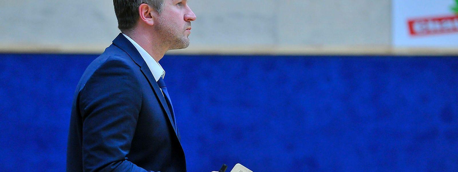 Helge Patzak soll Contern zurück in die Erfolgsspur führen.