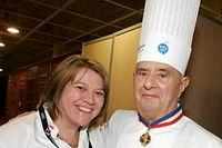 27 janvier 2009. Léa Linster et Paul Bocuse se retrouvent à Lyon pour le concours culinaire du  Bocuse d'Or. La Luxembourgeoise est le seul grand chef féminin à avoir décroché un Bocuse d'Or.