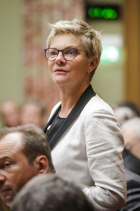 Die neue starke Frau der CSV: Martine Hansen wurde am Mittwoch zur Fraktionspräsidentin der Christ-Sozialen gewählt.