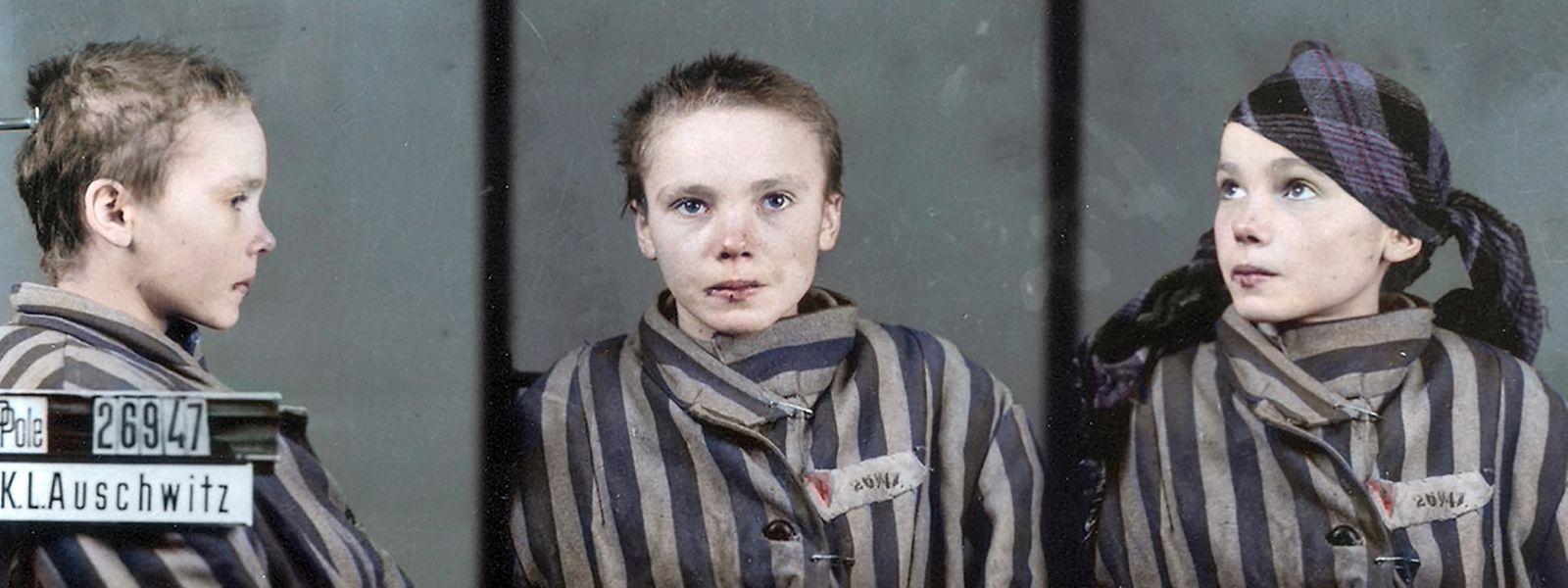 Zum Leben (wieder-)erweckt: Die Gefangene Nummer 26947, die 14-jährige Czesława Kwoka, die am 15. August 1928 im polnischen Wólka Złojecka geboren wurde...