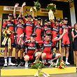Das Team BMC Racing gewinnt das Teamzeitfahren - Tour de France 2015 – 9. Etappe Vannes / Plumelec – Foto: Serge Waldbillig