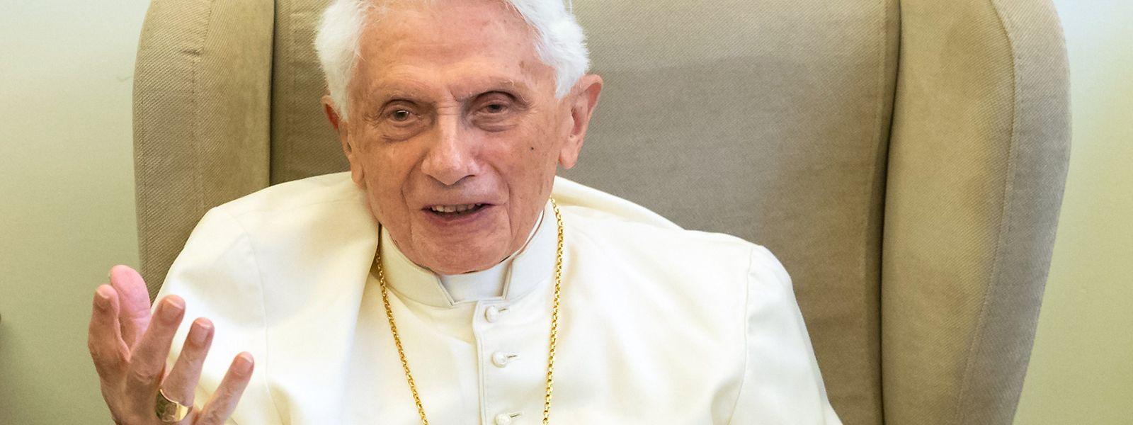 Papst Benedikt XVI. amtierte von 2005 bis zu seinem Rücktritt 2013.