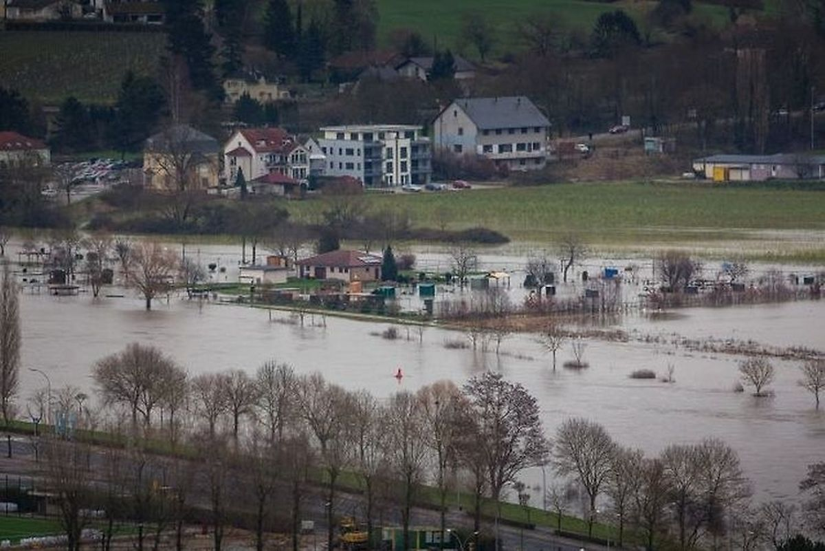 Parts of Luxembourg are still under water after torrential rains hit the country over the last week (Lex Kleren)