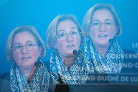 Politik, Paulette Lenert pressekonferenz, Neue Covid-Massnahmen in der Gesundheitskommission, Covid-19, Coronavirus, Foto: Chris Karaba/Luxemburger Wort