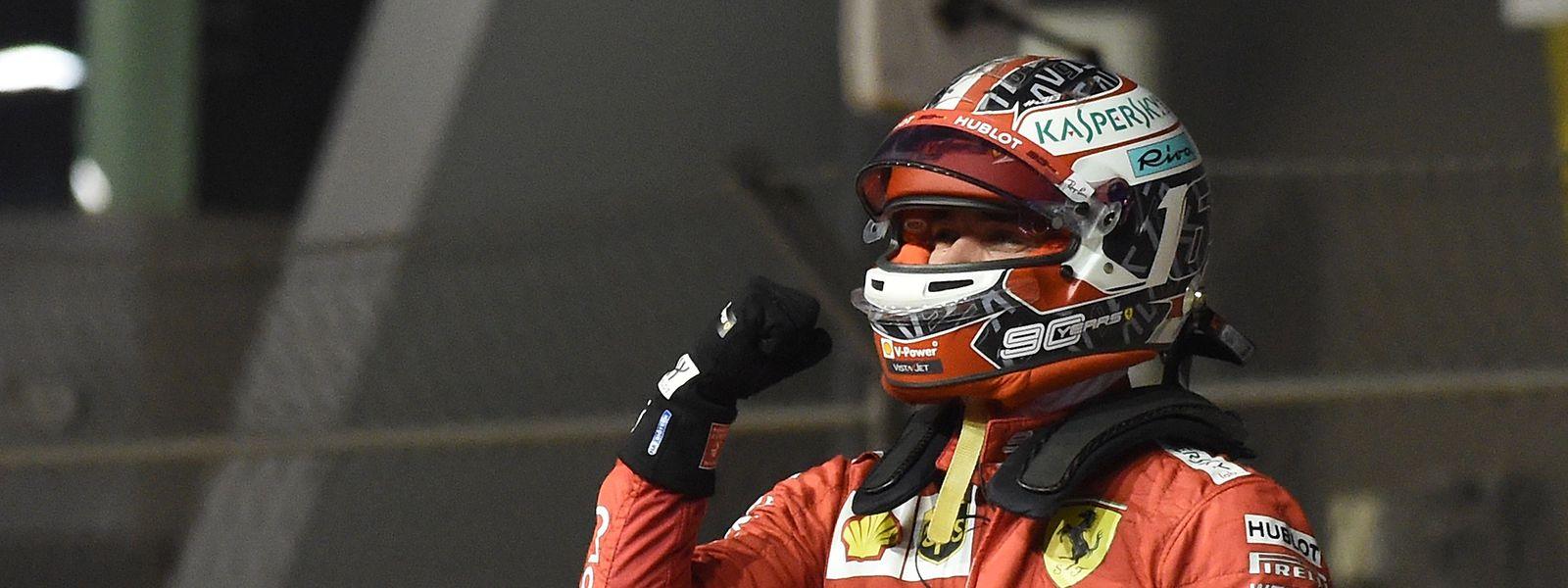Der junge Monegasse Charles Leclerc reitet zurzeit auf einer Erfolgswelle.