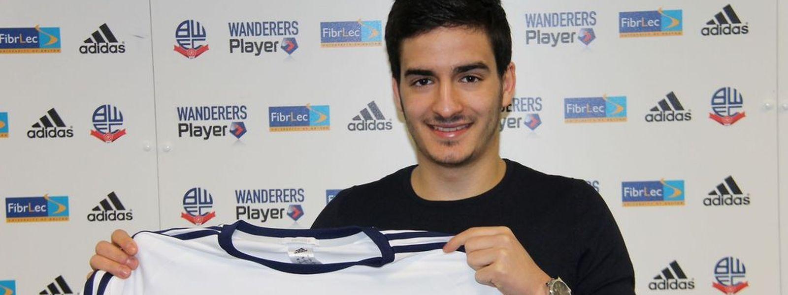 Yannick Bastos s'était engagé avec les Bolton Wanderers.