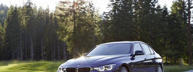 Der überarbeitete BMW 3er kommt mit nur wenigen optischen Veränderungen an.