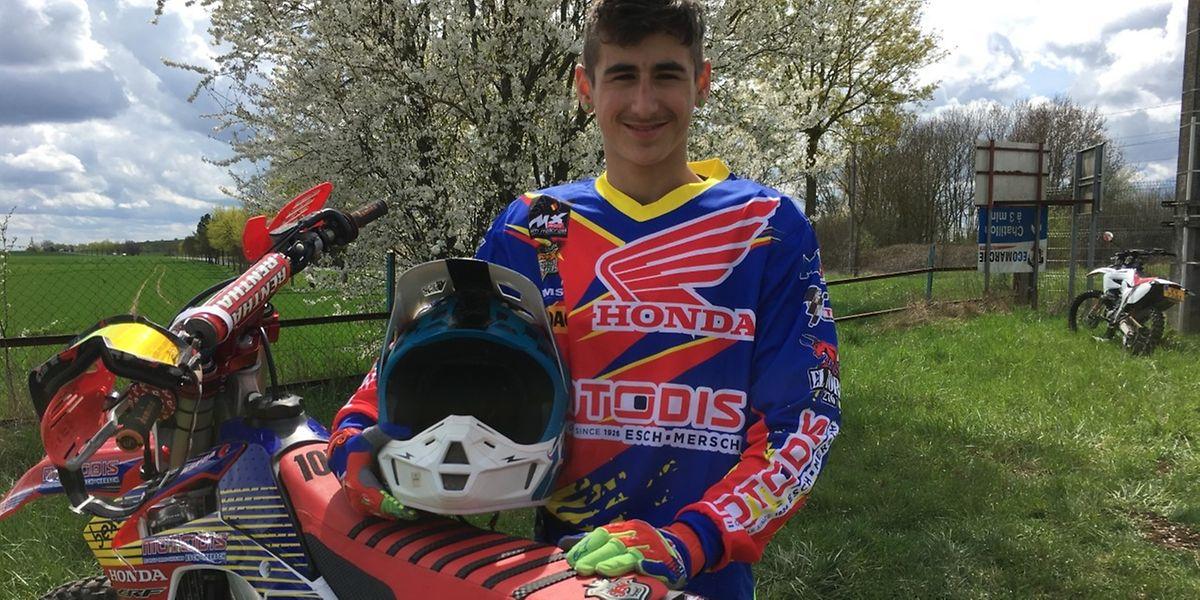 Dylan Figueiredo vai correr pelo Grão-Ducado no Campeonato do Mundo nas Nações.