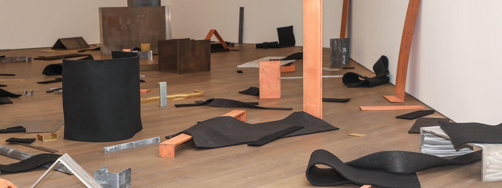 Pour la dispersion de «Untitled (Scatter Piece)», 1968-69, le Mudam a proposé à des enfants de laisser libre cours à leur imagination: une idée toujours défendue par l'artiste.