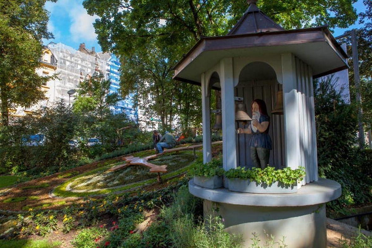 Fast 80 Jahren stand der erste Zwerg am Eingang zum Park Gerlache.