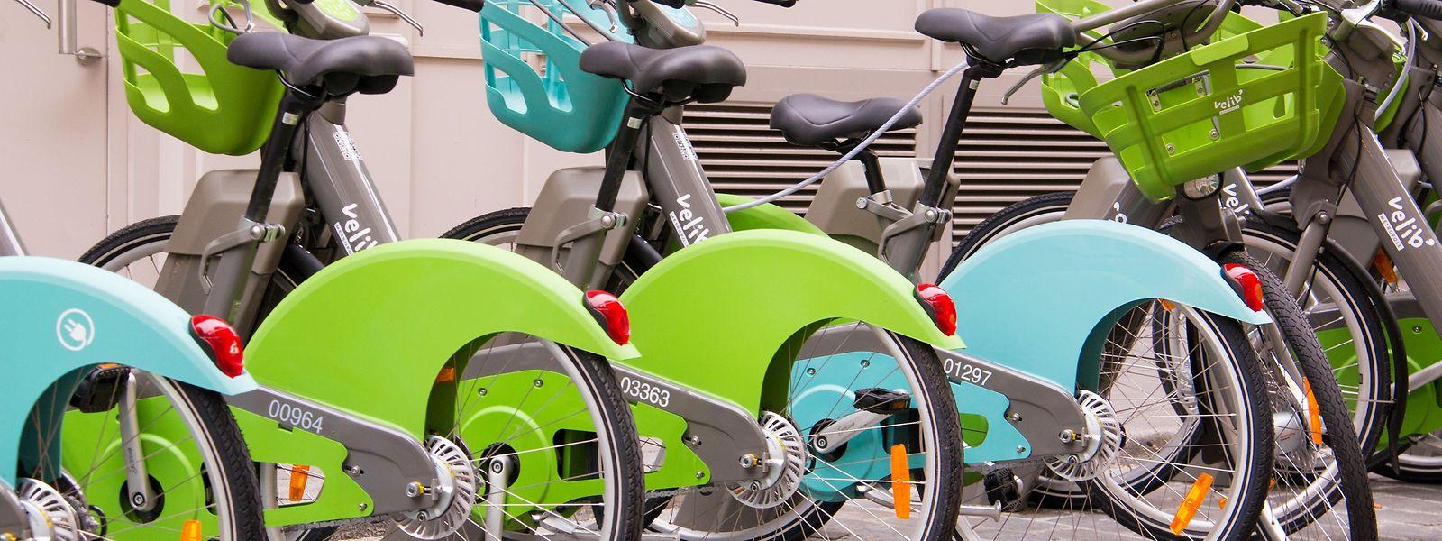 Leichter, schöner und leider auch rar: Velib-Kunden finden neuerdings nur selten ein Rad, wenn sie eins brauchen.