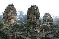 Der Tempel Bayon der Tempelanlagen von Angkor Wat.