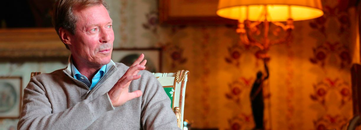 Télécran, Grand Duc Henri, 20 ans de reigne, Schloss Berg, Foto, Guy Wolff/Télécran