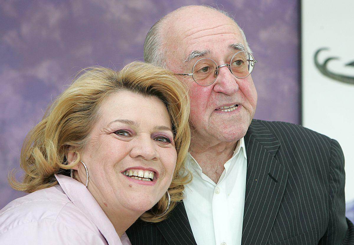Alfred Biolek 2012 zum 25-jährigen Jubiläums ihres Michelin-Sterns bei Léa Linster in Luxemburg.