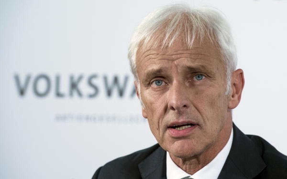 FILES - VW-Chef Matthias Müller ist derzeit gefordert.