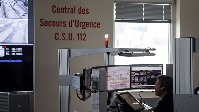 Lok , Central des Secours d`Urgence , C.S.U. 112 , Notrufzentrale , ITV Christopher Schuh , Foto:Guy Jallay/Luxemburger Wort
