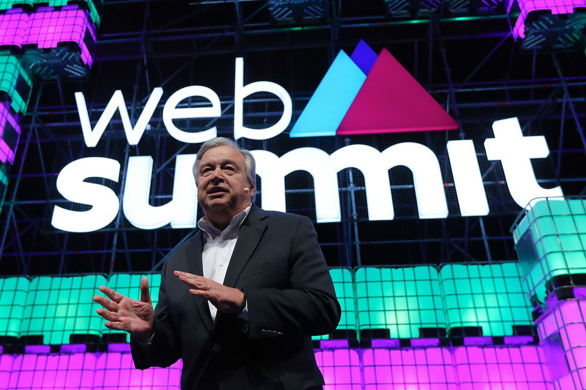 António Guterres na Web Summit