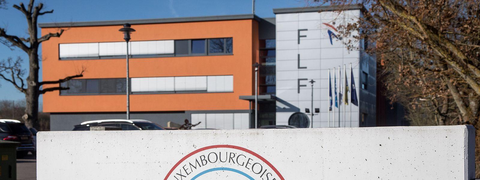 Elf Kandidaten wollen in Zukunft in den Räumlichkeiten des Fußballverbands in Monnerich zu wichtigen Entscheidungen beitragen.