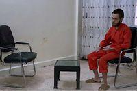 In dem Video des kurdischen Fernsehsenders Rûdaw TV sieht Steve Duarte, der sich seit März in Gefangenschaft befindet, deutlich abgemagert aus.