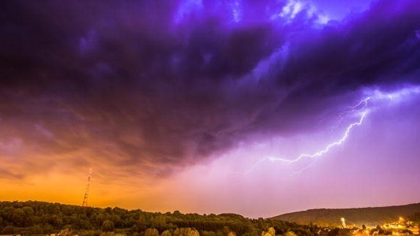 Der Weg, den ein Unwetter nimmt, lässt sich Stunden vorher schwer bestimmen.