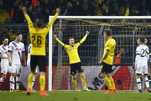 Europa League: Dortmund besiegt Tottenham mit Leichtigkeit