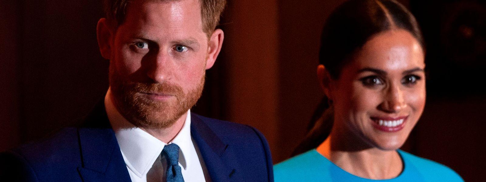 Prinz Harry und Herzogin Meghan traten erstmals seit langem wieder gemeinsam in der britischen Hauptstadt auf.