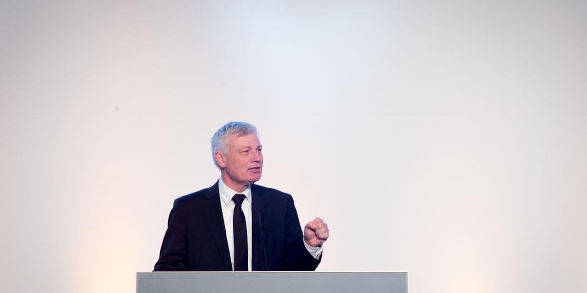 CSV-Spitzenkandidat Claude Wiseler mahnte zu Geschlossenheit während der Wahlkampagne.