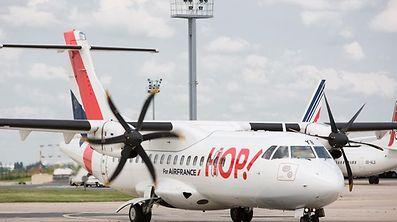 Via Lyon, les Luxembourgeois et les habitants de la Grande Région accèdent à 24 destinations avec HOP!