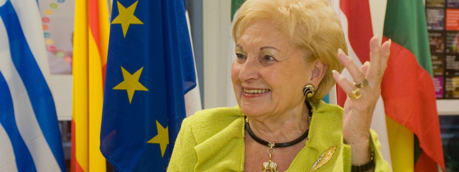 Ein Leben für die Politik: Astrid Lulling war fast 50 Jahre lang auf der europäischen Bühne aktiv.