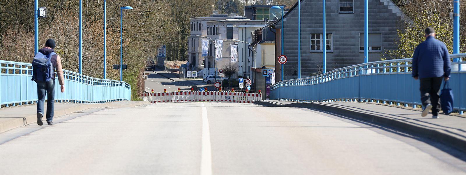 Kleinere grenzüberschreitende Verbindungsstraßen wie jene von Remich nach Perl sind seit vergangener Woche geschlossen.