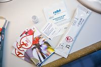 DIY Aids Test, HIV, VIH, Sida, Foto Lex Kleren