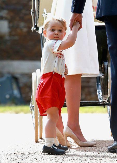 Prinz George, in einem Outfit seines Vaters aus Kindertagen.