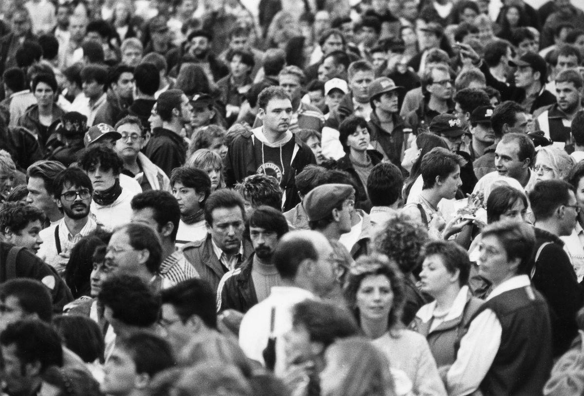 Am 26. August 1995 gastierten die Stones auf Kirchberg - Tausende Fans fanden den Weg zum Open Air.