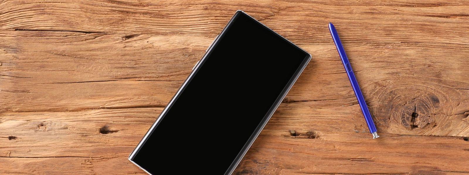 Display, so weit das Auge reicht: das 6,3 Zoll große Samsung Galaxy Note 10.