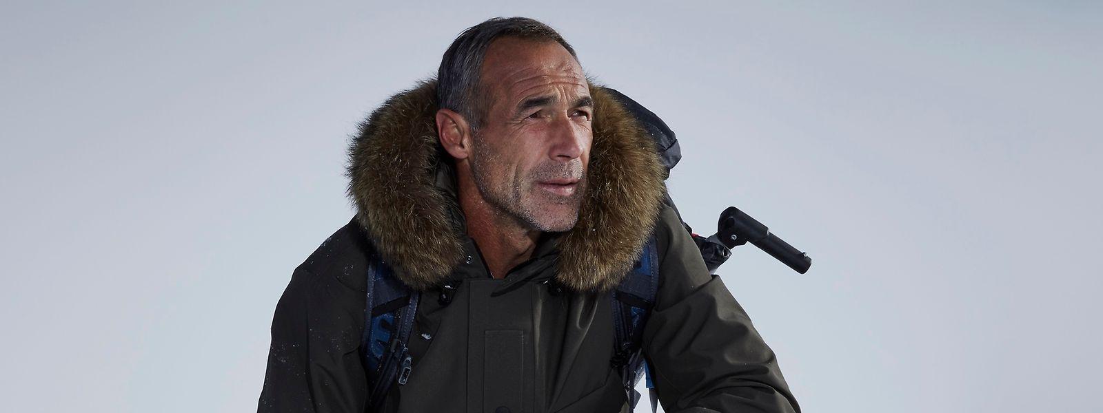 Extrem-Abenteurer und Uhrenbotschafter Mike Horn setzt seine Träume auf knallharten Touren mit Stärke und Entschlossenheit in die Tat um.