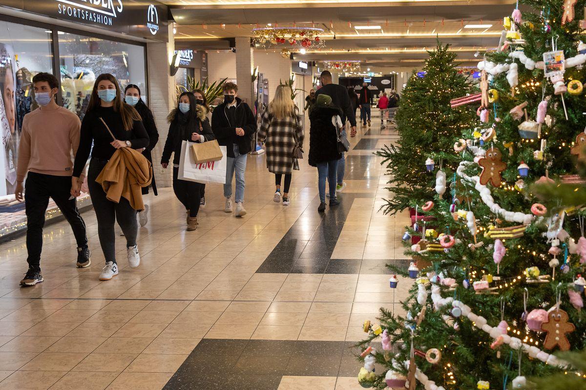 Im Einkaufszentrum Belle Etoile in Bartringen entsprach die Kundenfrequenz den Erwartungen der Direktion.