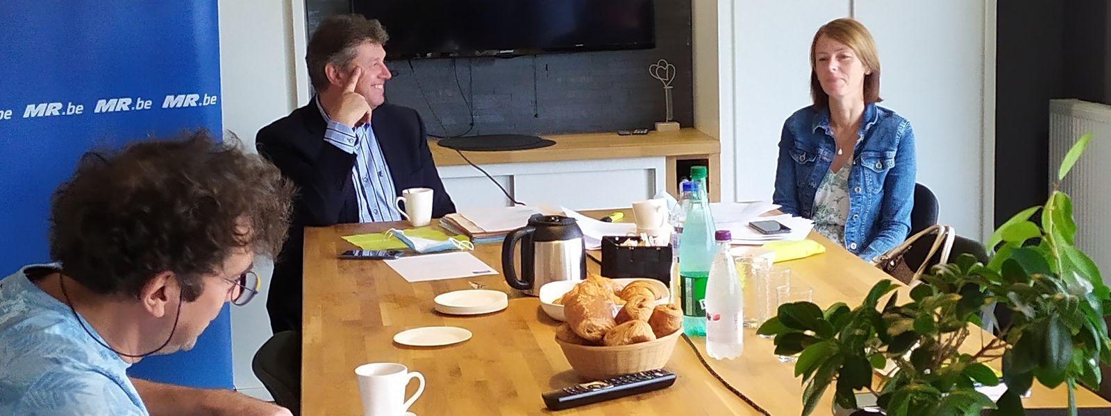 Yves Evrard et Anne Laffut veulent sonder le ministre wallon de la Mobilité sur la possibilité de mettre en place un P+R à Sterpenich.