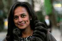 "(FILES) In this file photo taken on March 5, 2015 Angolan businesswoman Isabel dos Santos arrives to the opening of an art exhibition in Porto, northern Portugal. - An award-winning investigative team published a trove of files on January 19, 2020 allegedly showing how Africa's richest woman syphoned hundreds of millions of dollars of public money into offshore accounts. Its latest series called ""Luanda Leaks"" zeros in on Isabel dos Santos, the daughter of former Angola president Jose Eduardo dos Santos. (Photo by FERNANDO VELUDO / PUBLICO / AFP)"