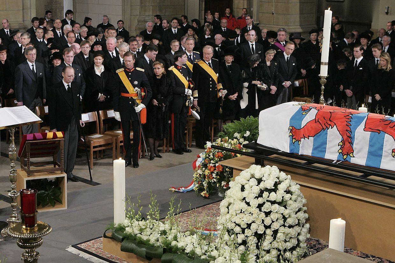 No funeral da Grã-Duquesa Joséphine Charlotte (2005).