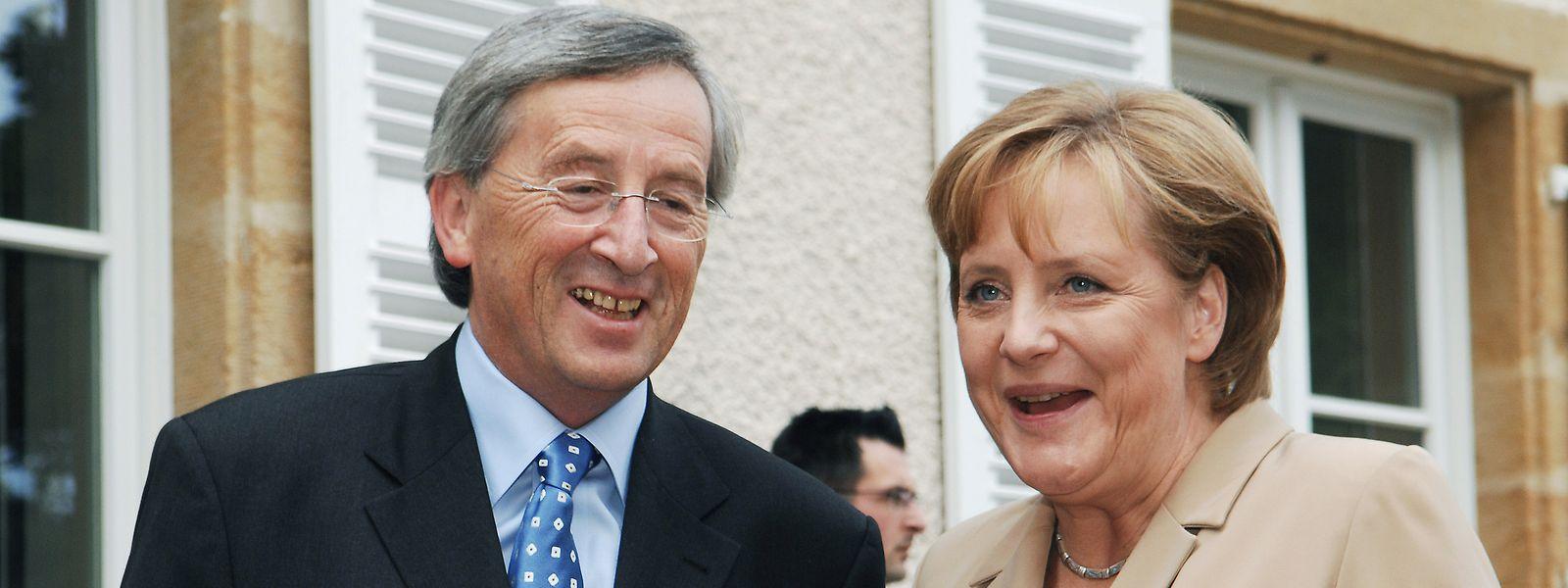 Avant même l'accession d'Angela Merkel à la chancellerie, Jean-Claude Juncker l'a côtoyée comme ministre de la Famille.